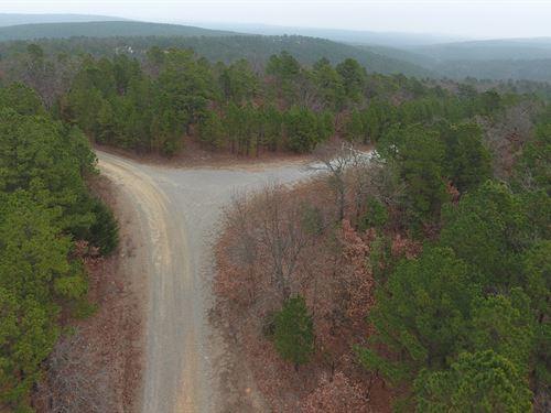 Hunting-Mountain Property : Wilburton : Latimer County : Oklahoma