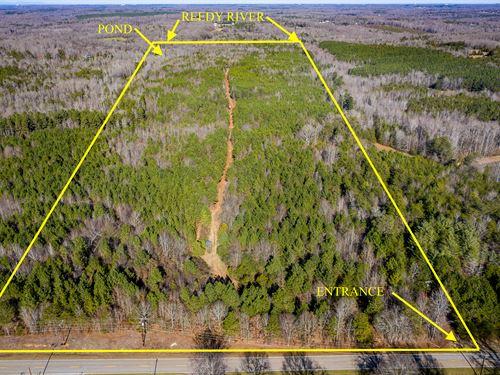 Reedy River Hunting Land & Homesite : Fountain Inn : Greenville County : South Carolina