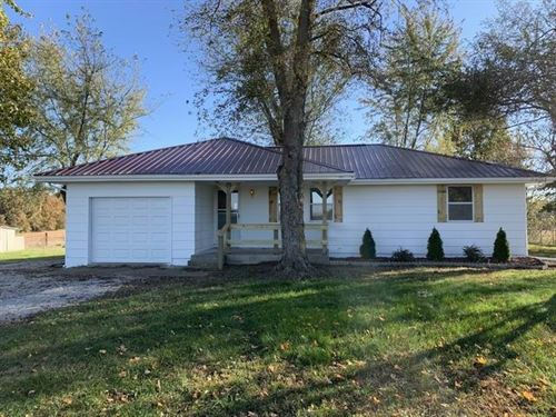 Home And Land For Sale in Missouri : El Dorado Springs : Cedar County : Missouri