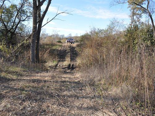 40 Acres Row Crop And Recreational : King City : Dekalb County : Missouri