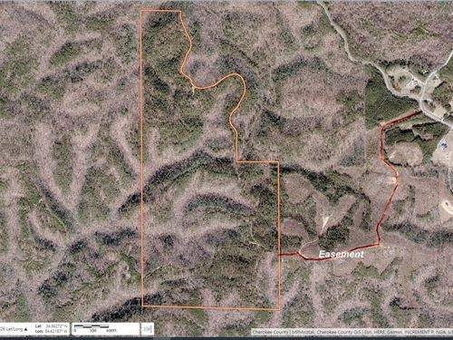 Garland Mountain / Hwy 140, 618 Ac : Waleska : Cherokee County : Georgia