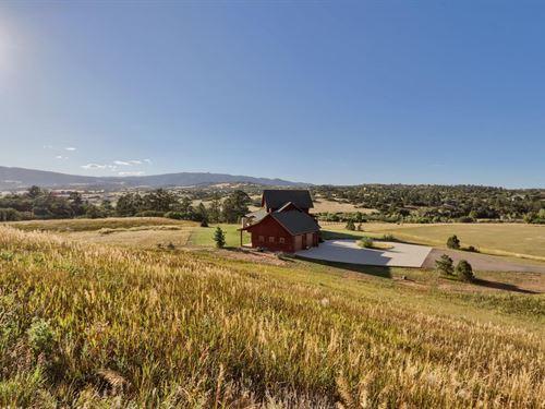 Horse, Irrigated Land, Water Rights : Sedalia : Douglas County : Colorado