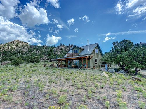 Mountain Home in Tranquil Location : Buena Vista : Chaffee County : Colorado