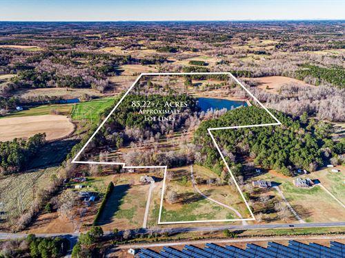 85+ Acre Farm With Log Cabin : Social Circle : Walton County : Georgia