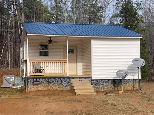 Private Tiny Home Tennessee Acreage : Bethel Springs : McNairy County : Tennessee