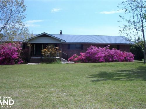 Barrytown Mini-Farm And Home : Gilbertown : Choctaw County : Alabama