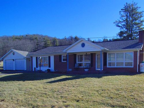Mini Farm in Blue Ridge Mountains : Troutdale : Grayson County : Virginia