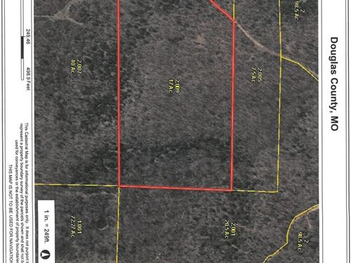 Land For Sale With Owner Financing : Ava : Douglas County : Missouri
