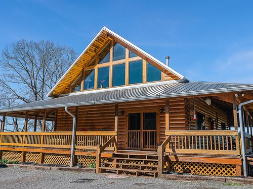 Beautiful Country Cabin 84+/- Acres : Goodwater : Clay County : Alabama