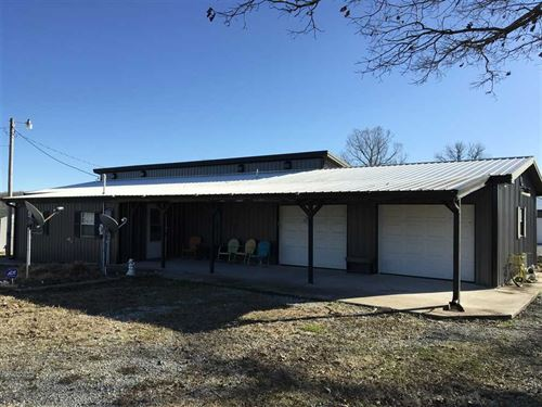 Charming Metal Sided Home, 2200 : Smithville : Lawrence County : Arkansas