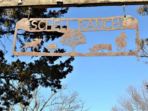 Schell Ranch : Barnsdall : Osage County : Oklahoma