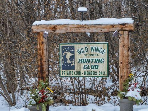 Minnesota Private Hunt Club : Hugo : Washington County : Minnesota