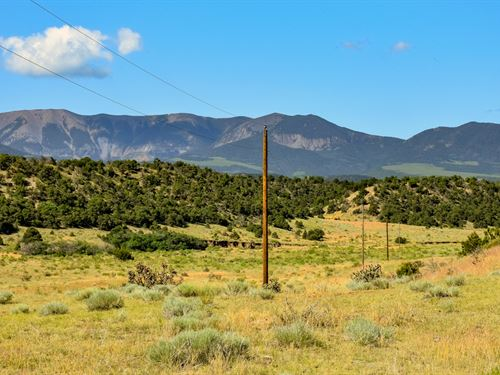 Ranch With Power & Mountain Views : Gardner : Huerfano County : Colorado