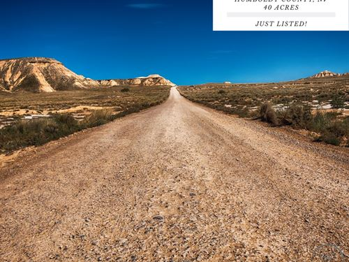40 Acres In Humboldt County, Nevada : Humboldt County : Humboldt County : Nevada