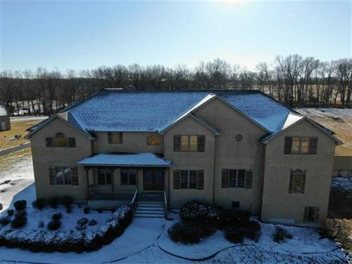 Large Home, Situated On 35 Acres : Marshfield : Webster County : Missouri