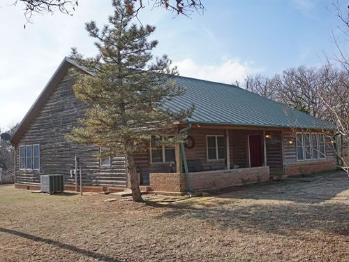 Country Home/Ranch 40 Ac Tryon : Tryon : Lincoln County : Oklahoma
