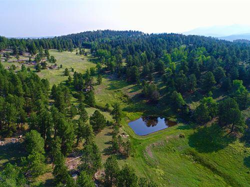 Colorado Ranch Water Rights : Cripple Creek : Teller County : Colorado