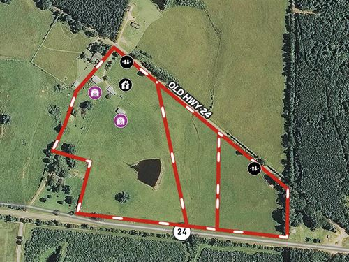 This Beautiful 37 Ac Has It All : Centreville : Wilkinson County : Mississippi