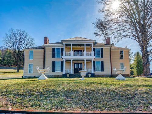 Judge Fulton's Historic VA Home : Austinville : Carroll County : Virginia