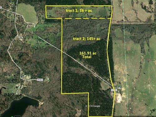 162 East Texas Acres, Winnsboro : Winnsboro : Wood County : Texas