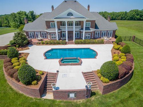 A Majestic Southern Estate : Concord : Cabarrus County : North Carolina