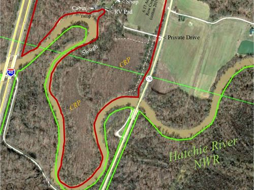 80 Ac TN Hunting Paradise : Sunnyhill : Haywood County : Tennessee