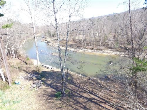 27 Acres on Neely Henry Lake & Home : Ashville : Saint Clair County : Alabama