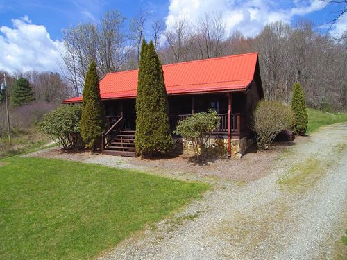 Home on 40 Acres in Blue Ridge Mtns : Mouth Of Wilson : Grayson County : Virginia