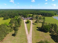 97+/- Acre Custom Estate : Hurtsboro : Russell County : Alabama