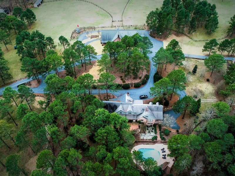 Luxury Equestrian Estate : Vass : Moore County : North Carolina