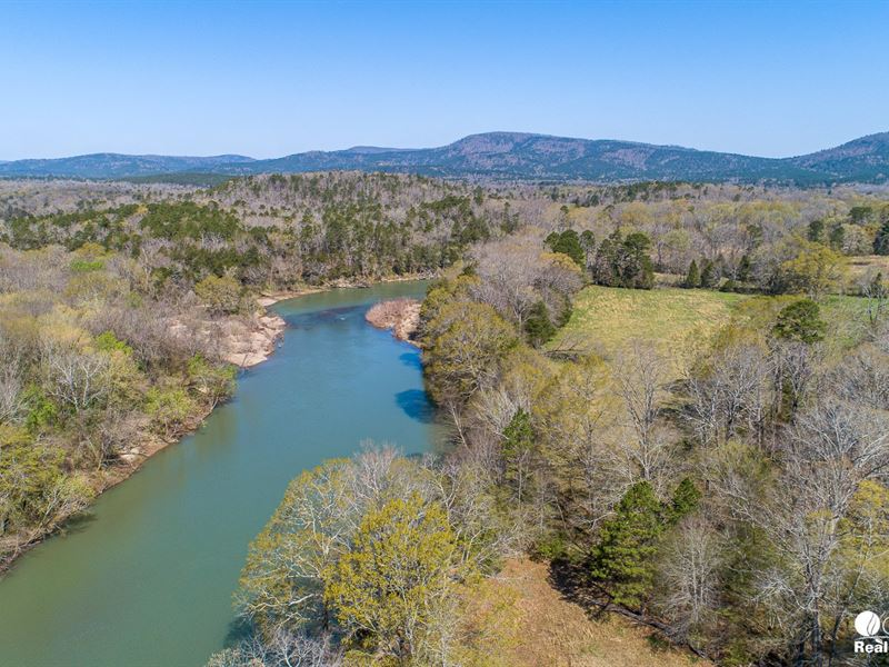River Ranch For Sale in Arkansas : Oden : Montgomery County : Arkansas