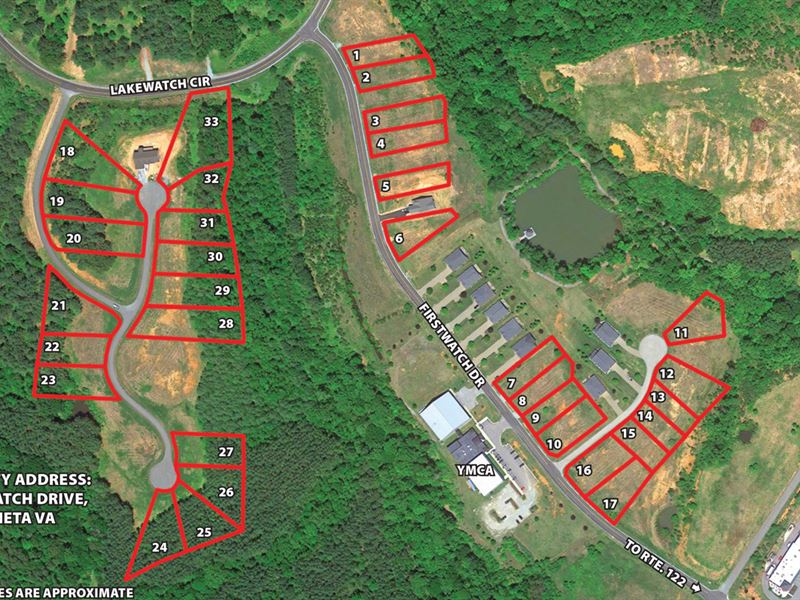 Lakewatch Plantation Auction : Moneta : Franklin County : Virginia