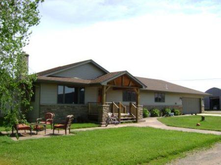 Beef Farm : Hillman : Morrison County : Minnesota