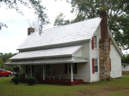 12 Acres With Farmhouse : Inman : Spartanburg County : South Carolina
