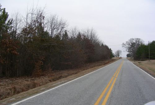 New Cross Dairy Farm Road : Fair Play : Oconee County : South Carolina