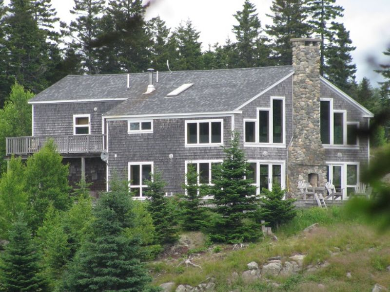 The Lodge At Mack Cove : Roques Bluffs : Washington County : Maine