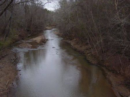 Creek Frontage And Rolling Hills : Thomaston : Talbot County : Georgia