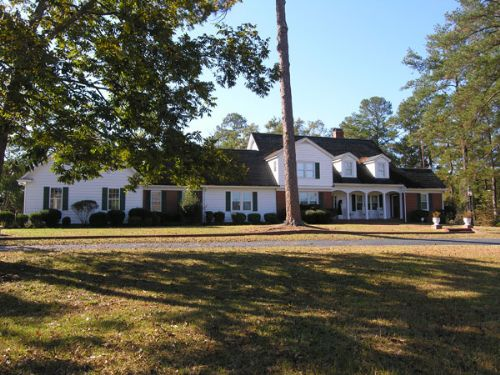 108 Ac W/ Homes; Open, Wooded, Pond : Wadley : Jefferson County : Georgia