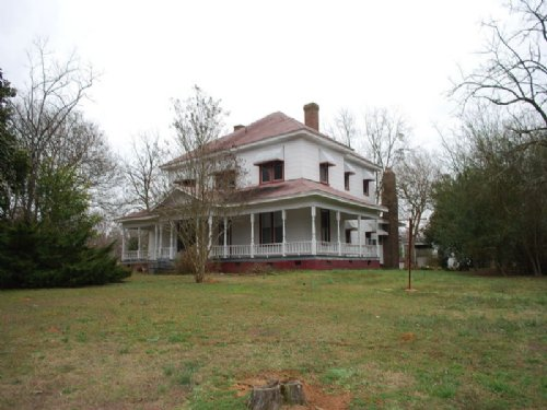 50 Acres W/ Plantation Style House : Carlisle : Union County : South Carolina