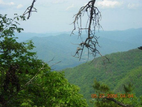 Mountain Property With Waterfall : Bryson City : Swain County : North Carolina