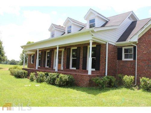 Brick Home On 15 Beautiful Acres : Social Circle : Walton County : Georgia