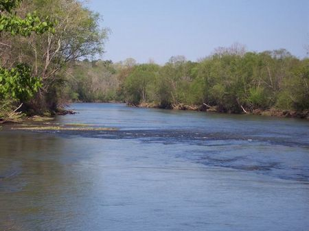 218 Acres On The Tallapoosa River : Dudleyville : Chambers County : Alabama