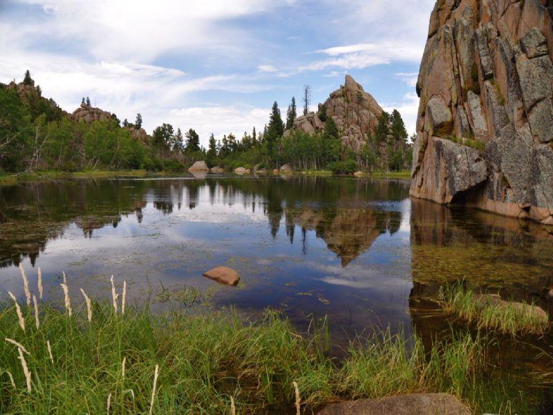 Phantom Lake Ranch : Red Feather Lakes : Larimer County : Colorado