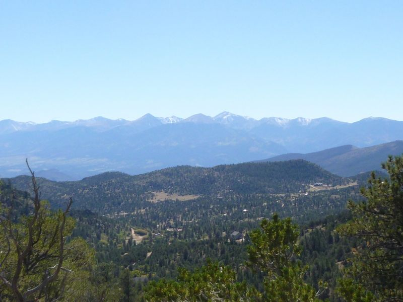74 Acres Joins Blm Bank Owned : Cotopaxi : Fremont County : Colorado