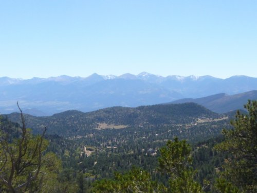 115 Acres Joins Blm : Cotopaxi : Fremont County : Colorado