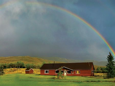 Mountain Springs Ranch : Pinedale : Sublette County : Wyoming
