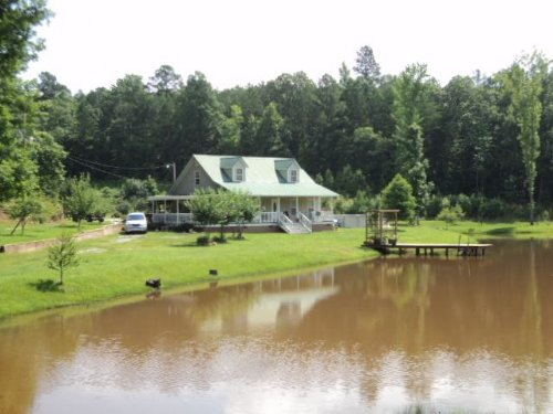 Secluded Cabin On 50+/- Acres : Delta : Clay County : Alabama
