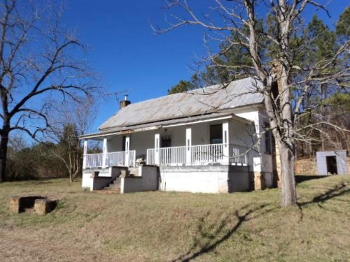 32+/- Acres With Farmhouse : Heflin : Cleburne County : Alabama