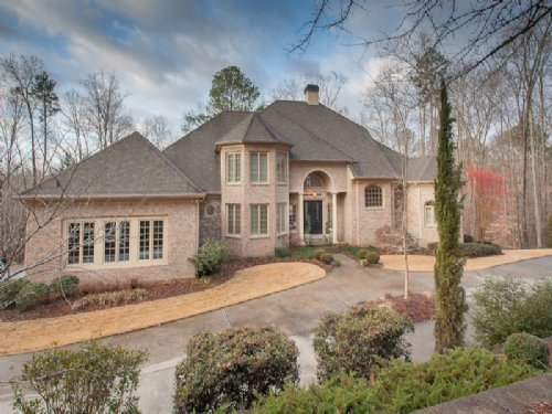 Waterfront Estate Home On 26ac : Monroe : Walton County : Georgia
