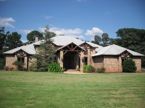 Turn-key Estate With 5000 Sf Home : Monticello : Jasper County : Georgia